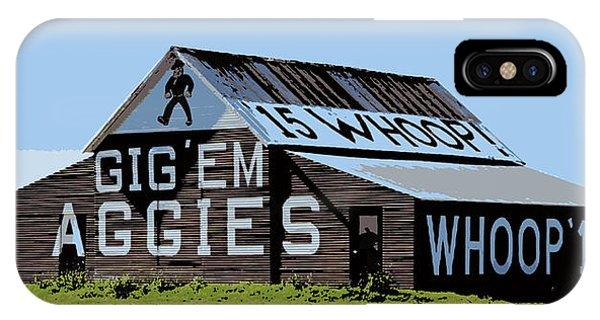 Aggie iPhone Case - Aggie Barn II by Stephen Stookey