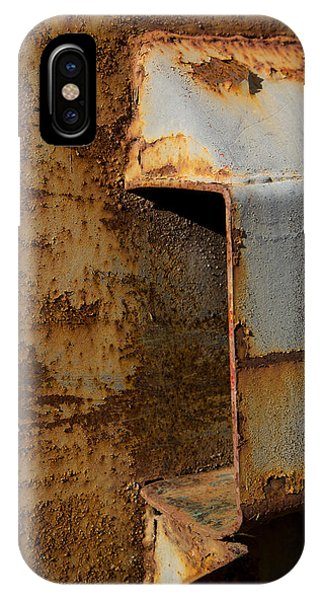 Aging With Rust IPhone Case