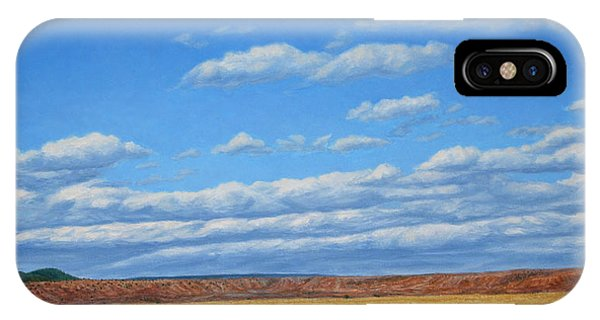 New Mexico iPhone Case - Grazing by James W Johnson