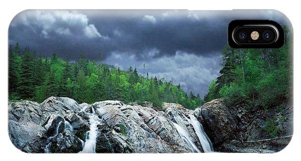 Aguasabon River Mouth IPhone Case