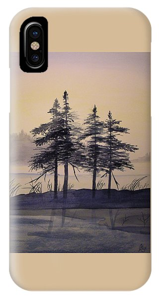 Aguasabon Trees IPhone Case