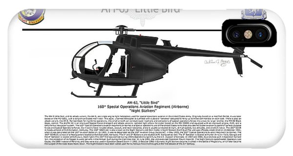 Ah-6j Little Bird IPhone Case