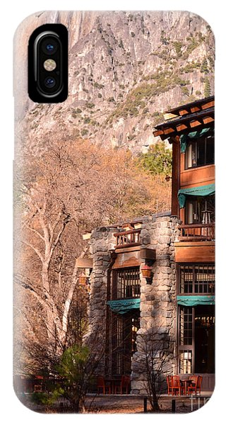 Ahwahnee And Yosemite Falls IPhone Case
