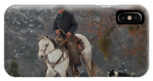 Ahwahnee Cowboy IPhone Case