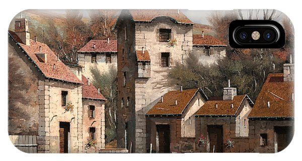 Village iPhone Case - Aia Bianca by Guido Borelli