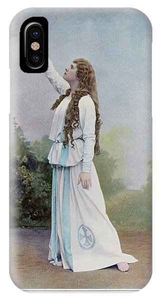 Aino Ackte  Finnish Opera Singer, Seen Phone Case by Mary Evans Picture Library