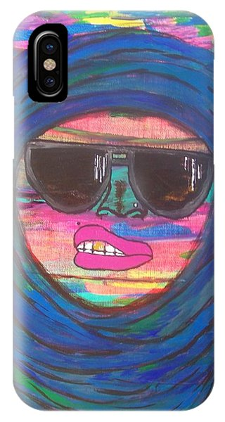 Ain't Even Worried About It Phone Case by LaRita Dixon
