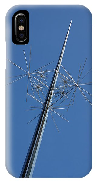 Air And Space Museum Art Spire IPhone Case