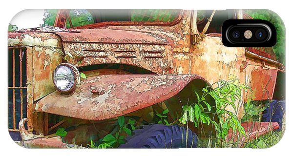 Air Conditioned Rusty Ol' Truck IPhone Case