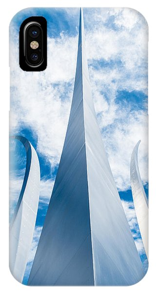 Air Force Monument IPhone Case