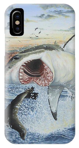 Air Jaws Phone Case by Jason Nicholson