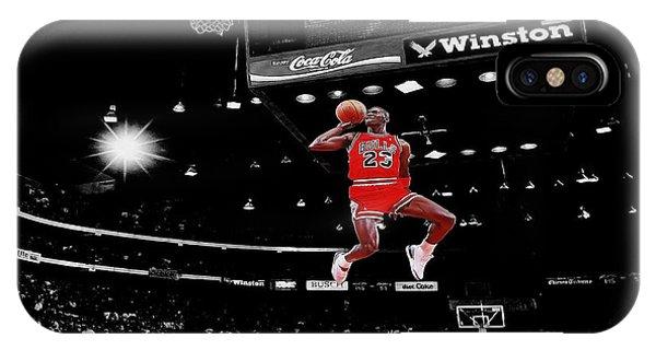Michael iPhone Case - Air Jordan by Brian Reaves
