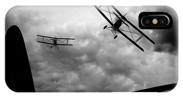 Skyscape iPhone Case - Air Pursuit by Bob Orsillo