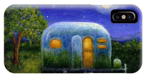 Airstream Camper Under The Stars IPhone Case