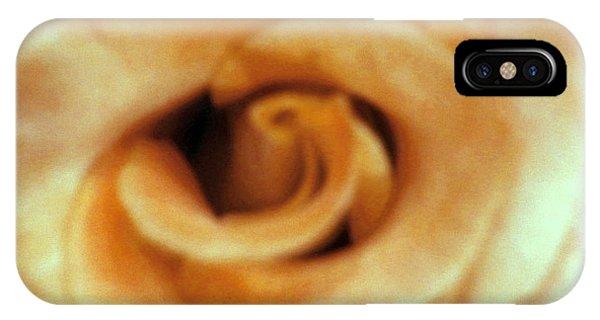 Airbrush Rose IPhone Case