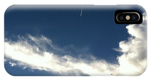 Aircraft And Dragonfly IPhone Case