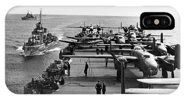 Aircraft Carrier Uss Hornet IPhone Case