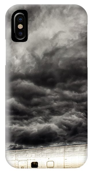 Skyscape iPhone Case - Airplane by Bob Orsillo