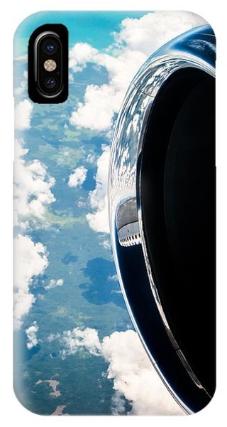 Jet iPhone Case - Tropical Skies by Parker Cunningham
