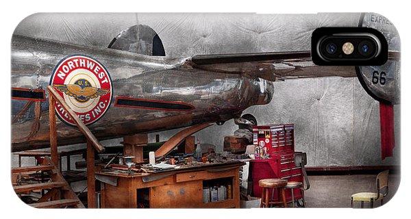 Airplane - The Repair Hanger  IPhone Case
