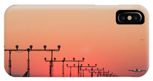 Airport Runway Phone Case by David Nunuk/science Photo Library