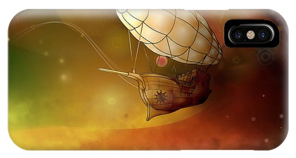 Airship Ethereal Journey IPhone Case
