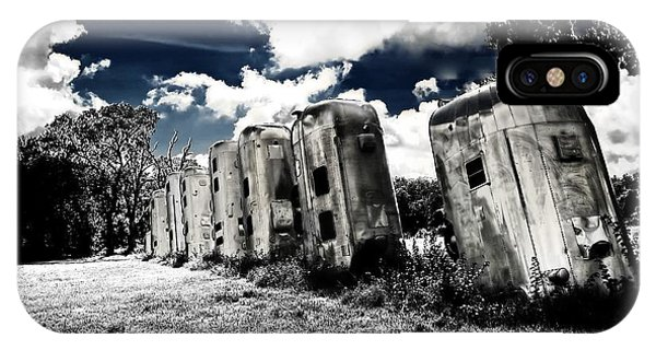 Airstream Ranch In Ir Hdr IPhone Case
