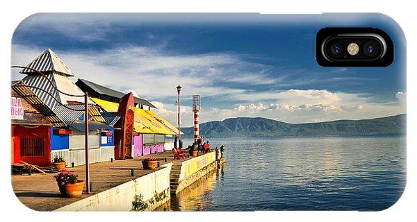 Ajijic Pier - Lake Chapala - Mexico IPhone Case
