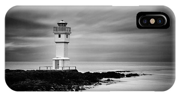 Akranes Lighthouse IPhone Case