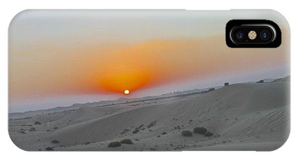 Al Ain Desert 12 IPhone Case