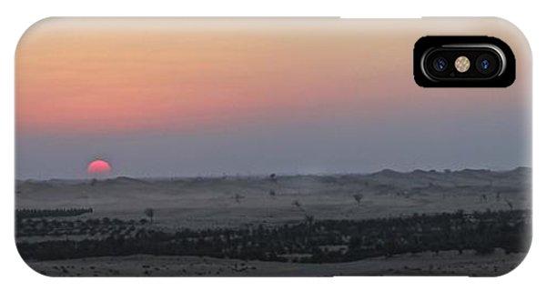 Al Ain Desert 7 IPhone Case