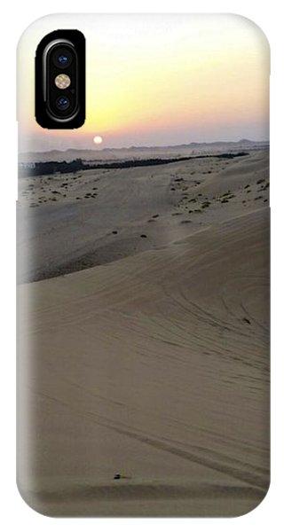 Al Ain Desert 8 IPhone Case