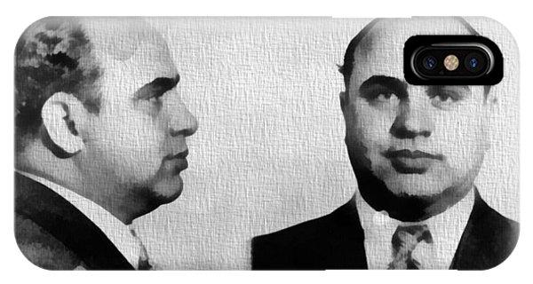 Al Capone Mug Shot IPhone Case