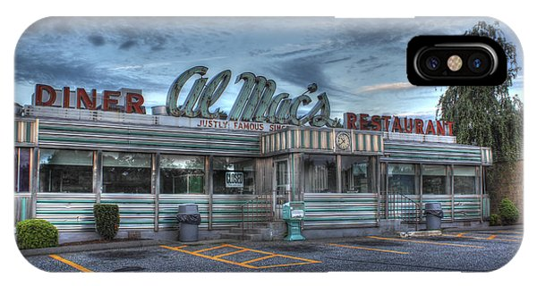 Al Mac's Diner IPhone Case
