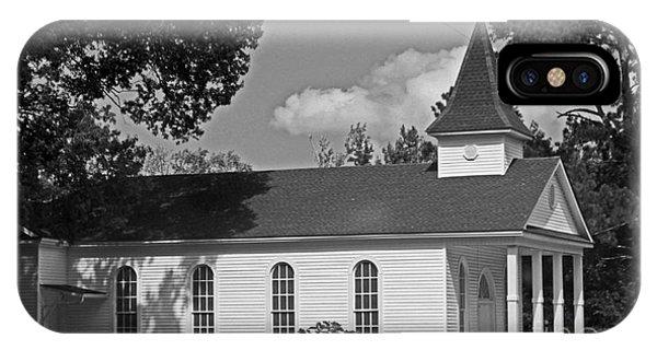 Alabama Church Phone Case by Kimberly Saulsberry