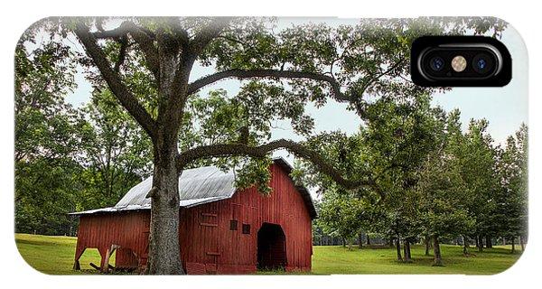 Alabama Red Barn  IPhone Case