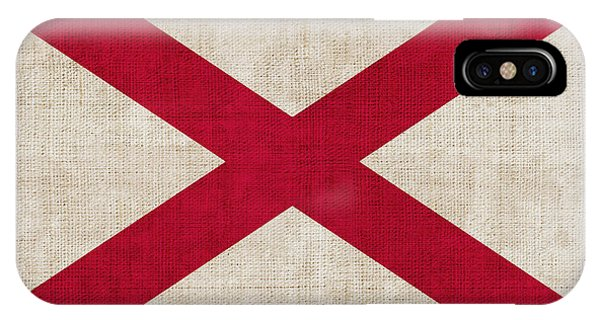 Alabama iPhone Case - Alabama State Flag by Pixel Chimp