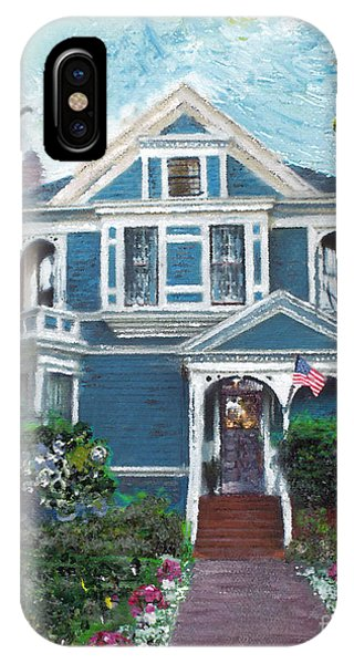 Alameda 1887 - Queen Anne IPhone Case