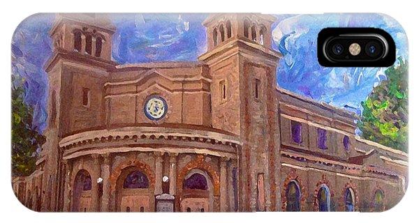 Alameda 1909  Twin Towers Church - Italian Renaissance  IPhone Case