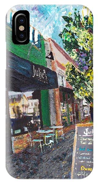 Alameda Julie's Coffee N Tea Garden IPhone Case