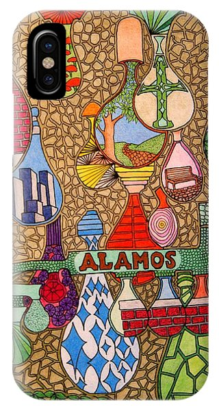 Alamos Lights IPhone Case