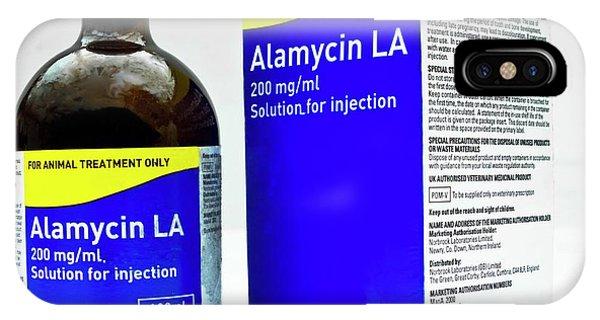 Alamycin Antibiotic Solution Phone Case by Ian Gowland
