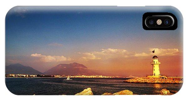 Navigation iPhone Case - Alanya by Jelena Jovanovic