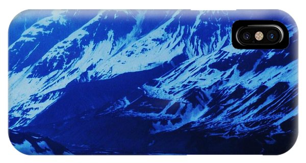Alaska Blue Phone Case by Marcus Dagan