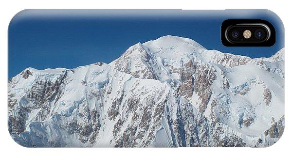 IPhone Case featuring the photograph Alaska Peak by Barbara Von Pagel