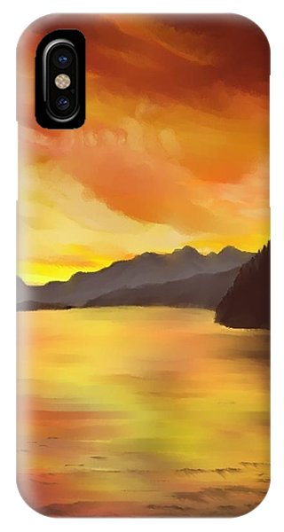 Alaska Sunset IPhone Case