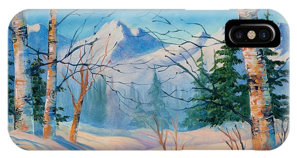 Alaska Winter IPhone Case