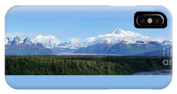 Alaskan Denali Mountain Range IPhone Case