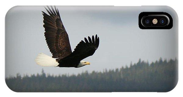Alaskan Flight IPhone Case