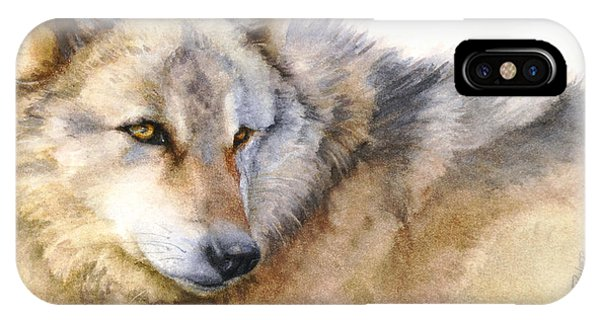 Alaskan Gray Wolf IPhone Case